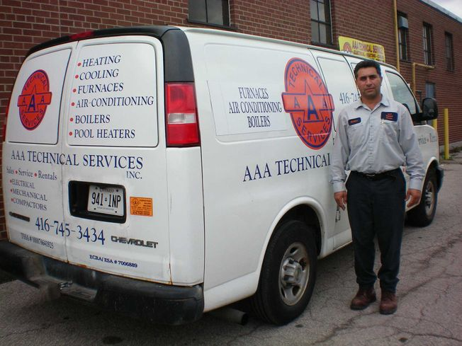 AAA truck and owner