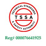 Technical Standards and Safety Authority certified