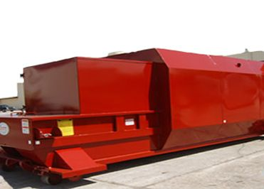 red compactor